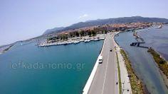 aerial photos from Lefkada island