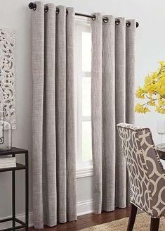 Chambray Raspberry Linen Curtain, Linen Drapes, Custom Curtains