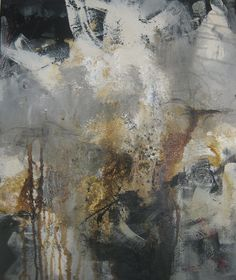 'Dark Dream' ~  mixed media acrylics by Leeanne Laforge 2013