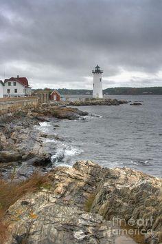 ✯ Portsmouth Harbor Lighthouse - Portsmouth Naval Base, New Hampshire