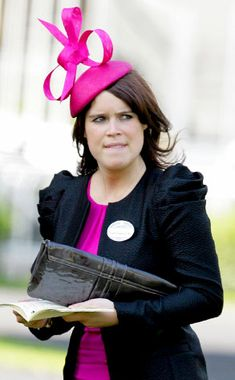 Crazy British Hats | Princess Eugenie from Stars in Big Crazy Hats | E! Online