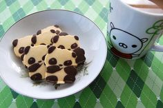 panda cookies!! adorb!