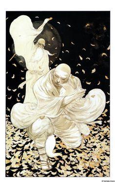 by Yoshitaka Amano, from Sandman: the Dream Hunters