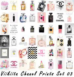 "bluehoppersimming: "" Viikiita Chanel Prints Credit for the art goes to the wonderful viikiitastuff . Mesh credit: Angela & TheNumbersWoman. As Paintings – Download // Mirror (Mediafire) As OBJECTS –..."