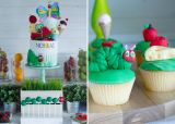 Very Hungry Caterpillar Party | Cupcakes