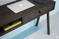 Office Desk, Polish, Furniture, Design, Home Decor, Desk Office, Vitreous Enamel, Decoration Home, Desk