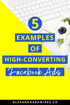 5 Examples of High Converting Facebook Ads Designs & Copy | Online Marketing Tips for Entrepreneurs & Facebook Marketing Tips -  Are you looking to run a Facebook ad campaign for your business? Here are 5 examples of successful Facebook Ad designs & copy to give you some ideas & inspirations on how to use Facebook Ads for your business. | Alexandra Ramirez #facebookmarketing #facebookads #onlinemarketing #marketingtips #entrepreneur #marketing #smallbusiness Social Media Marketing Agency, Content Marketing Strategy, Facebook Marketing, Sales And Marketing, Online Marketing, Digital Marketing, Marketing Companies, Using Facebook For Business, How To Use Facebook