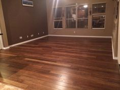 """""""Put this floor in my family room. It came out absolutely gorgeous. So happy to have gotten rid of the carpet. Me and a friend were able to install almost 400 ft.² in about 10 hours. After reading all the reviews and watching how to video on glue down process there really weren't any surprises."""" (Anji Bamboo)"""