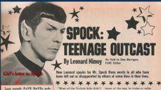 Your Morning Cry: Leonard Nimoy's Touching 1968 Advice Column Answers Teen Biracial Girl