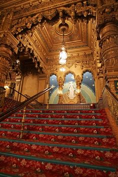 The ornate interior of the United Palace Theatre, at Broadway and 175th Street built in 1930. Photo by Konrad Fiedler