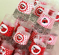 DIY Ladybug Birthday Party by PixieBearParty on Etsy