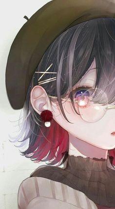 Ideas for beautiful art drawings inspiration anime girls Fille Anime Cool, Art Anime Fille, Cool Anime Girl, Pretty Anime Girl, Cute Anime Pics, Anime Art Girl, Anime Girls, Anime Chibi, Manga Anime
