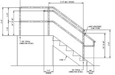 Best Dimensioned Drawing Showing Complete Stair Stringer 400 x 300