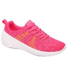 $18.84 Casual Women's Athletic Shoes With Lace-Up and Color Matching Design
