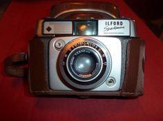 Ilford camera uit jaren 60/70. Grote foto's