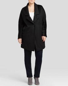 Marina Rinaldi Plus Nobile One-Button Jacket | Bloomingdale's