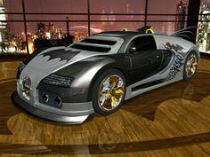 Batmobile Bugatti Veyron im in love