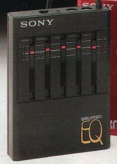 Sony SEQ-50 Portable Graphic Equalizer for Walkman (1982)
