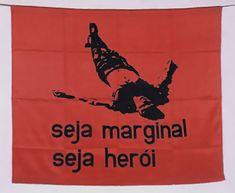helio-oiticica-seja-marginal-seja-heroi, silkscreen on nylon