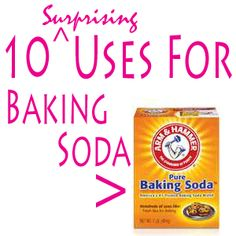 10 Surprising Uses for Baking Soda. You might not have thought of some of these.