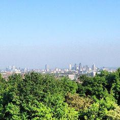 Parliament Hill views #nw3 #city #instagramyourcity #london #heath #hampstead #lovelondon #summer #instagramhub #iphone4s #picoftheday #instamood #instagood - @fundamentals- #webstagram