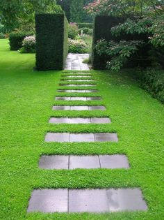 Красивые способы оформления садовых дорожек