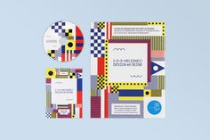 1–2–3–Helsinki ! Design en Seine by Werklig, via Behance