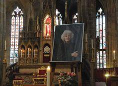 Včera jsme v katedrále vzpomněli na vzácnou ženu.
