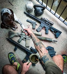 """Black Rifle Coffee Company on Instagram: """"Man's best friend. #blackriflecoffee"""" Mans Best Friend, Best Friends, Black Rifle Coffee Company, Guns, Military, Instagram, Liberty, Camping, Lifestyle"""