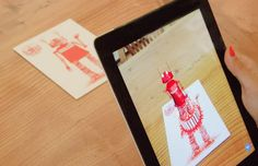 Augmented reality greeting cards. You've got to see how these work!