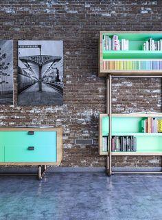 Platonics: Proyecto que busca fabricar muebles en cualquier localidad hechos a mano, con materiales biodegradables y con mucho estilo...