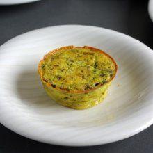 Flan de courgettes au camembert
