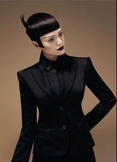 Hair cut and colour: Sassoon Creative Team led by Mark Hayes | International Creative Director Make-up: Daniel Koleric Clothes stylist: Tabitha Owen Photography: Colin Roy Colour Product: Chromatology by Sassoon Professional Products: Sassoon Professional
