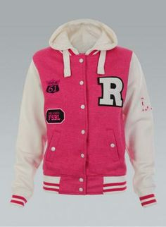 Pink Lady Varsity Jacket | Jackets Lady and Pink