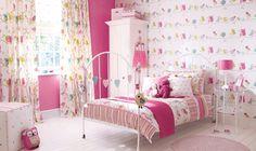 Estampados del hogar para niñas. Tendencias 2012