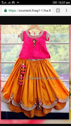 Price Please for 10 years Girl Kids Dress Wear, Kids Gown, Little Girl Dresses, Girls Dresses, Baby Dresses, Girls Wear, Kids Indian Wear, Kids Ethnic Wear, Baby Dress Design