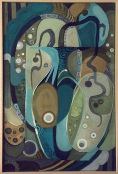 100% handmad!  Wonderful colors! #Batik - You can buy it for 260€ Contact me: https://www.facebook.com/mariina.art