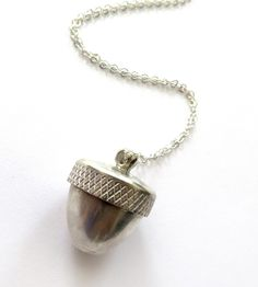 Acorn Sterling Silver Locket