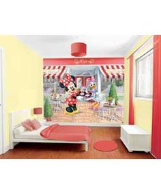 Buy Walltastic Disney Minnie Mouse Wall Mural at Argos.co.uk, visit Argos.co.uk to shop online for Home improvements, Wallpaper, samples, borders and wall stickers