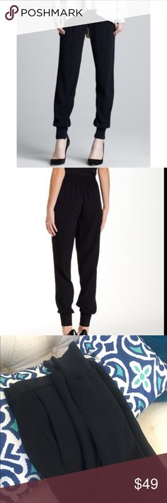 [Vince] Jogger Dress Pants Look chic with these Vince Joggers.  BNWOT, in excellent condition. Can be dressed up or down. Stretches at the waist. Unfortunately these are a bit too big and long for me.  Please feel free to ask questions before purchase. I am also open to reasonable offers. 😊 Vince Pants Track Pants & Joggers