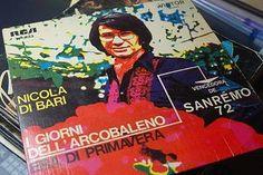 """Nicola Di Bari - I Giorni Dell'Arcobaleno (Vinyl 7"""") 1972 Portugal"""