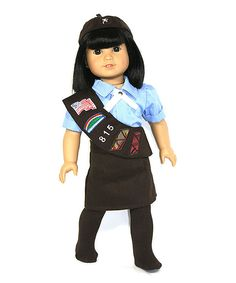 Look at this Brownie Doll Outfit on #zulily today!