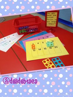 Doubling activity using Numicon