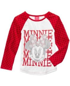 0aeda7391 Toddler Girls' Minnie Mouse T-Shirt - Red 4T, Toddler Girl's ...