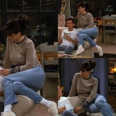 Monica Geller's Most Iconic Outfits - Fashion Outfits Rachel Green Outfits, Estilo Rachel Green, Friends Mode, Friends Tv Show, 90s Inspired Outfits, Socks Outfit, 90s Fashion, Fashion Outfits, Style Fashion