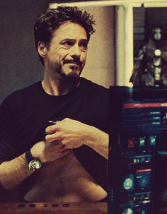 Tony Stark (Iron Man 2) - A little more than a peek but oh well :)