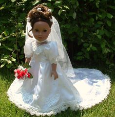 American Girl wedding dress
