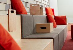 #Rockwell unscripted by #Knoll. O melhor do #desing e #workplacewellbeing está na @EscinterMS  #moveis #escritorio #cadeiras