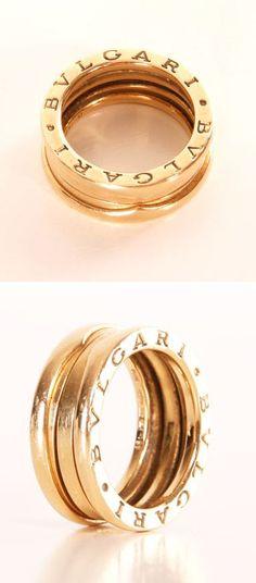 Bvlgari Ring ♥ L.O.V.E.