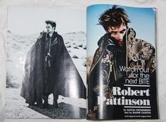 L'Uomo Italy Vogue November 2012 Robert Pattinson Twilight Jude Law Foxhound | eBay